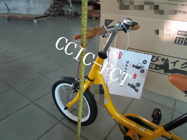 China Children bike final random inspection service