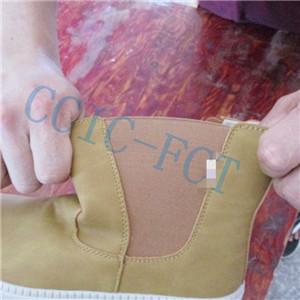 comprovació de la qualitat de les sabates esportives